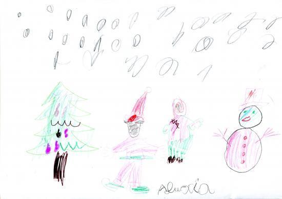 Alexia - 5 ans